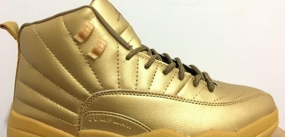 All gold og 12s retro jordans